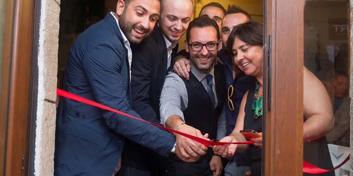 """Taormina. """"Boxart"""": elegante inaugurazione davanti a numerosi invitati"""