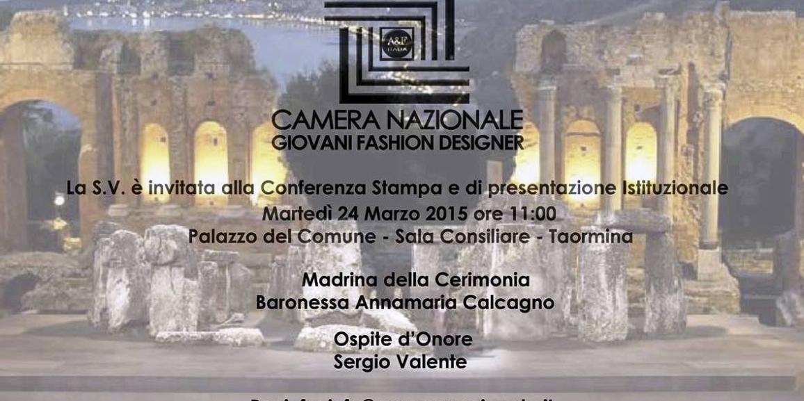 Moda a Taormina. Martedì la presentazione